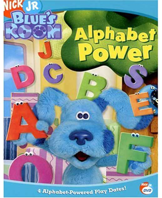 Blue's Room-Alphabet Power
