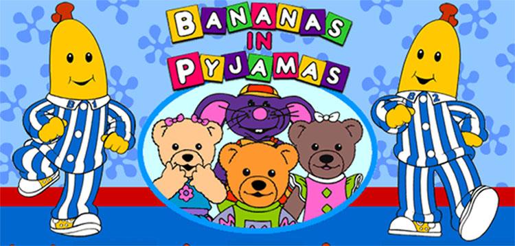 banana pyjamas
