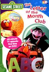 Sesame Street TV - The Letter of the Month Club