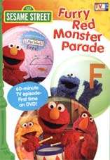 Sesame Street TV - Furry Red Monster Parade