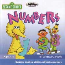 sesame street numbers