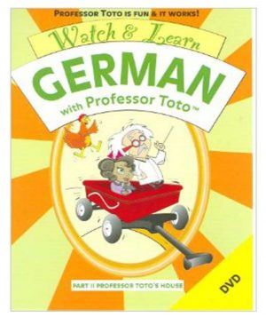 Watch & Learn German with Professor Toto I & II