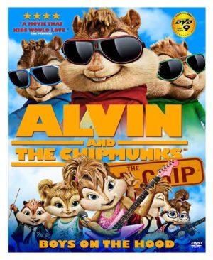 مجموعه alvin and the chipmunks