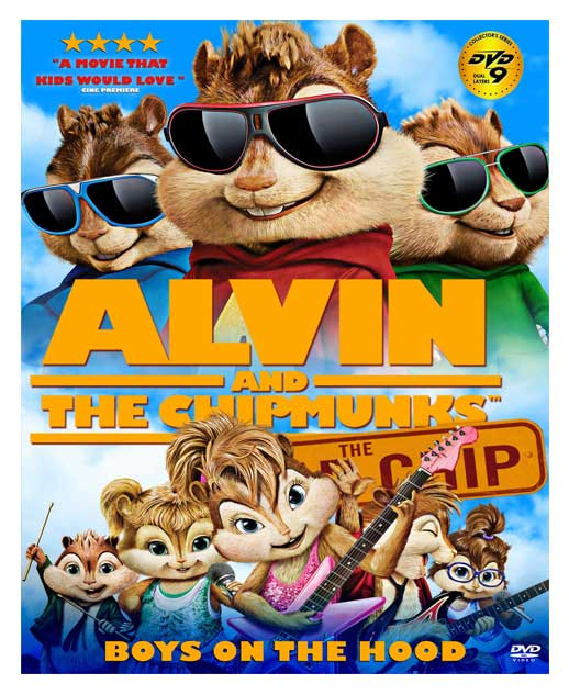 مجموعه alvin and the chipmunks