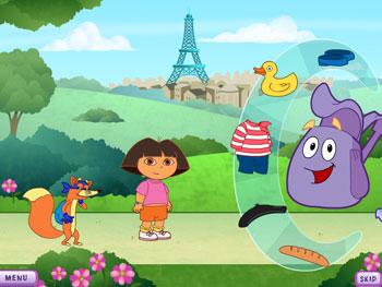 Dora the explorer French