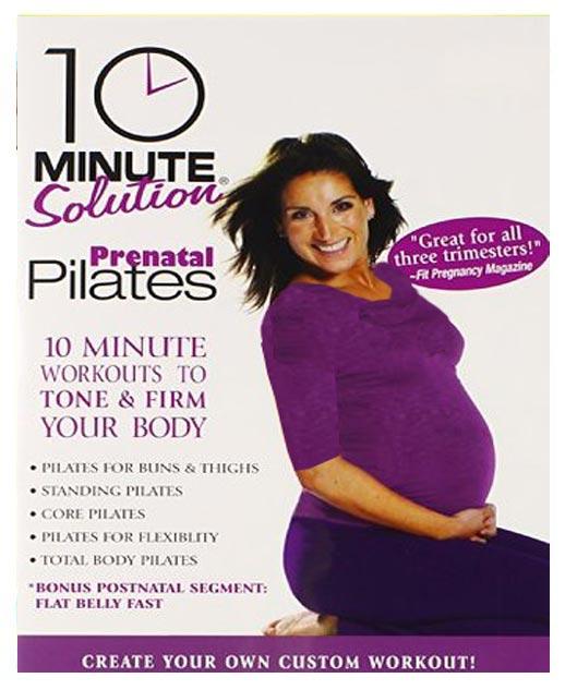 10 دقیقه پیلاتس برای زنان باردار