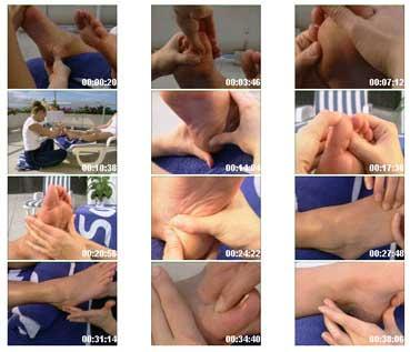 کنیک های ماساژ بازتاب درمانی