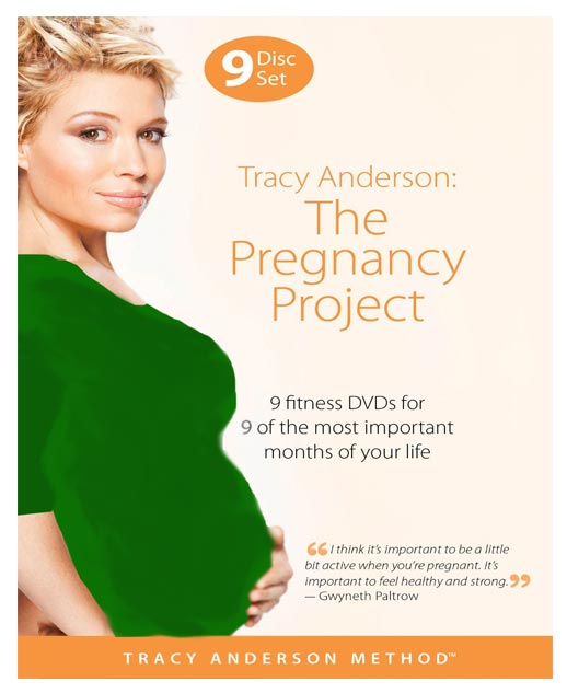 ایروبیک و تمرینهای بارداری با Tracy Anderson