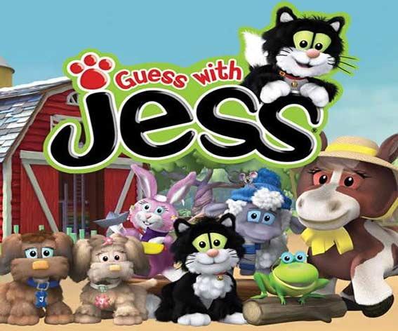 مجموعه کارتونی Guess with Jess
